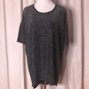 Black and Silver Sparkle Irma from Lularoe